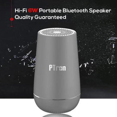 Sonor Pro 4.2V Bluetooth Speaker 6W 360° Surround Sound Portable Wireless Speaker (Grey)