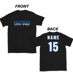 Central Springs Unisex Custom Name and Number Tshirt