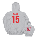 Customized Clarendon Lions Unisex Hooded Sweatshirt (front/back)
