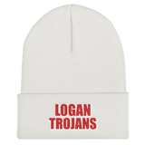 Logan Trojan Unisex Embroidered Beanie