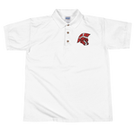 Logan Trojans Men's Embroidered Polo Shirt
