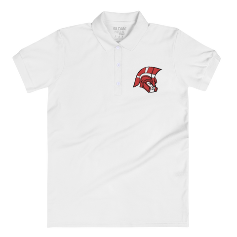 Logan Trojans Women's Embroidered Polo Shirt