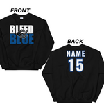 Central Springs Unisex Custom Name and Number Sweatshirt