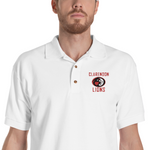 Clarendon Lions Men's Embroidered Polo Shirt