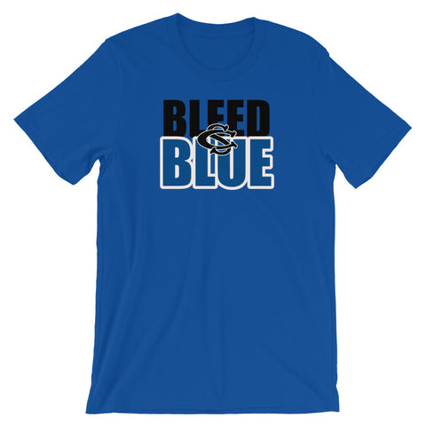 Central Springs Unisex Bleed Blue Tshirt