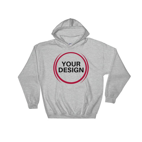Unisex Basic Hooded Sweatshirt
