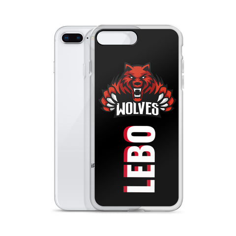 Lebo Wolves iPhone Case (All Sizes Available)
