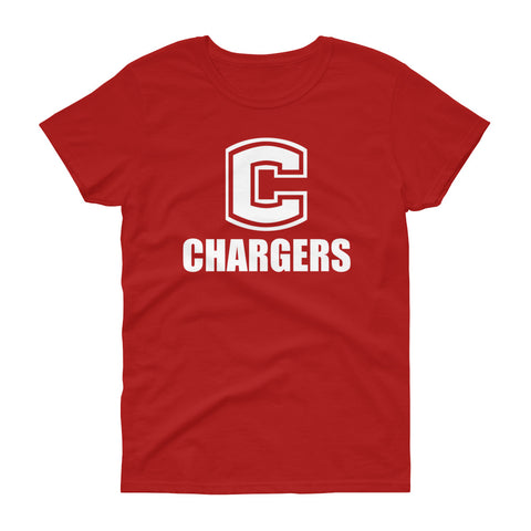 Chariton Chargers Women's Loose Crew T-Shirt