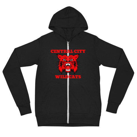 Central City Wildcats Unisex Zip Hoodie