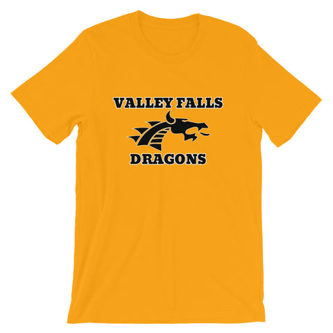 Valley Falls Dragons Premium Unisex Short Sleeve Shirt