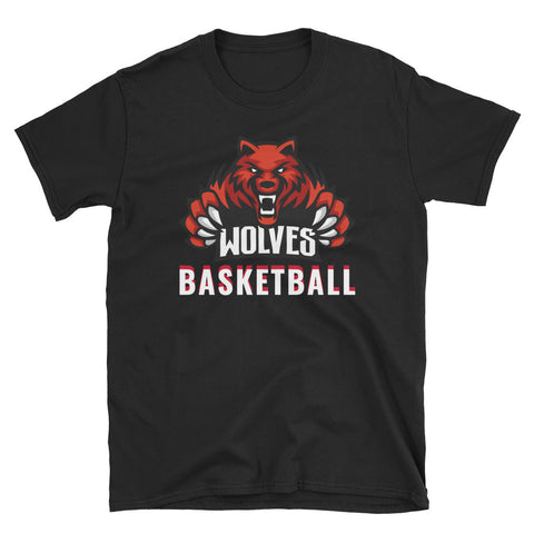 Lebo Wolves Basketball Unisex T-Shirt