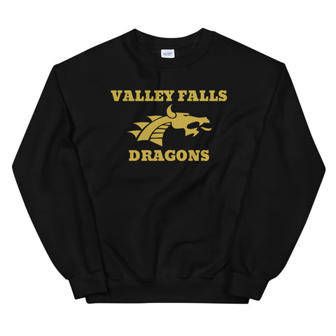 Valley Falls Unisex Sweatshirt BLACK