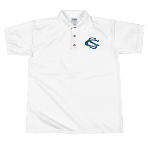 Central Springs Embroidered Polo Shirt