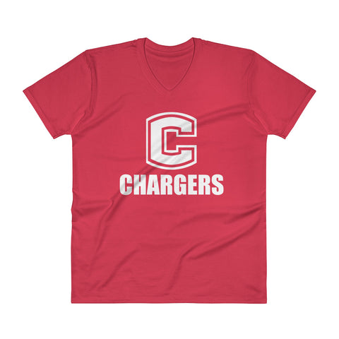 Chariton Chargers Unisex V-Neck T-Shirt
