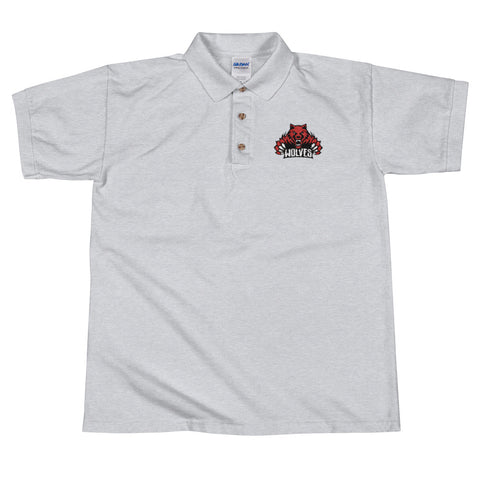 Lebo Wolves Men's Embroidered Polo Shirt