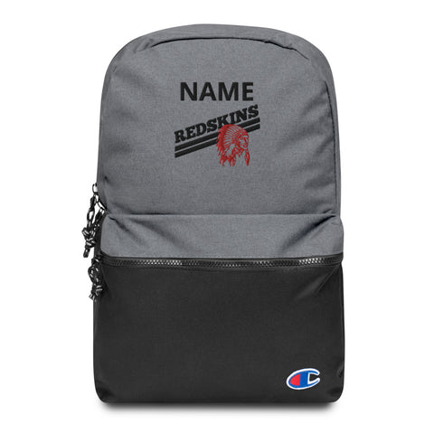 Little River Custom Name Embroidered Champion Backpack