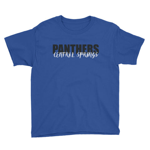 Central Springs Unisex Youth Tshirt