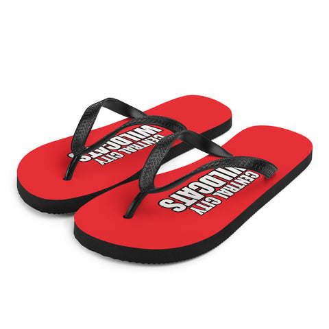 Central City Wildcats Unisex Flip-Flops