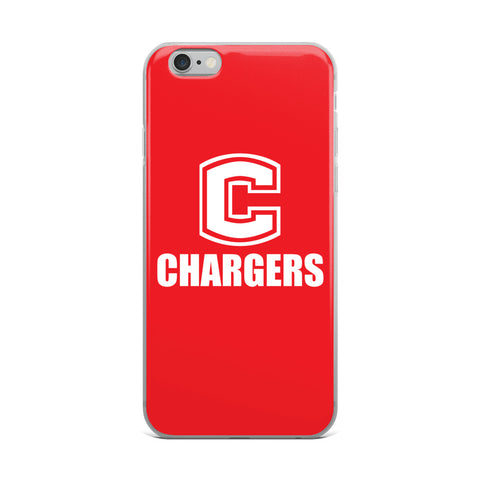 Chariton Chargers iPhone Case (All Sizes Available)
