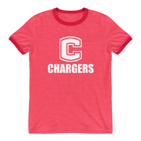 Chariton Chargers Unisex Ringer T-Shirt