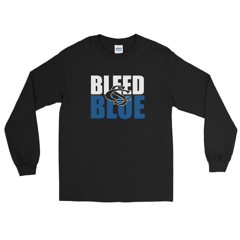 Central Springs Bleed Blue Unisex Long Sleeve T-Shirt