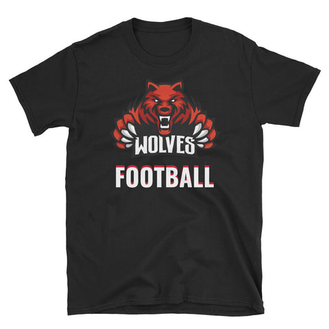 Lebo Wolves Football Unisex T-Shirt