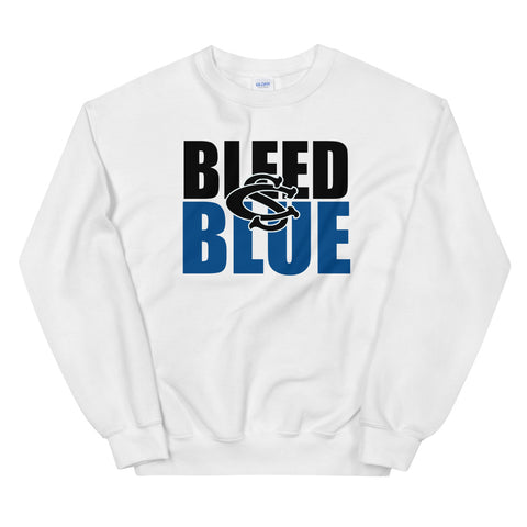 Central Springs Bleed Blue Unisex Sweatshirt