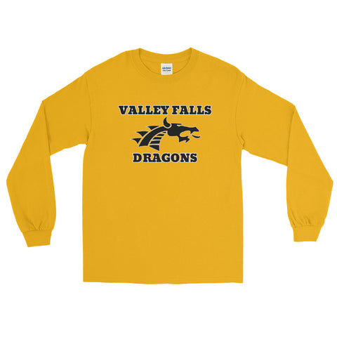 Valley Falls Unisex Long Sleeve T-Shirt GOLD