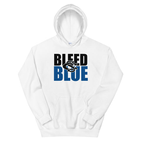 Central Springs Bleed Blue Unisex Hoodie