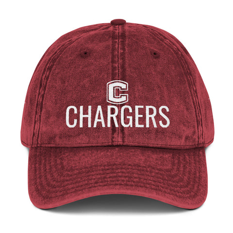 Chariton Chargers Unisex Vintage Twill Hat