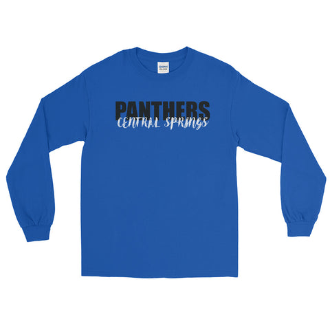 Central Springs Panthers Unisex Long Sleeve Tshirt