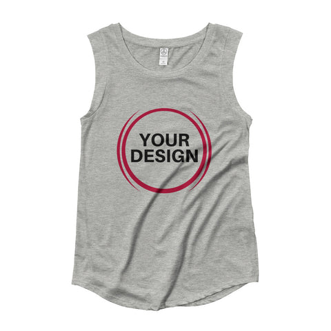 Ladies' Cap Sleeve Tee