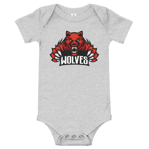 Lebo Wolves Unisex Baby One-Piece