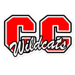 Central City Wildcats Bubble-free stickers