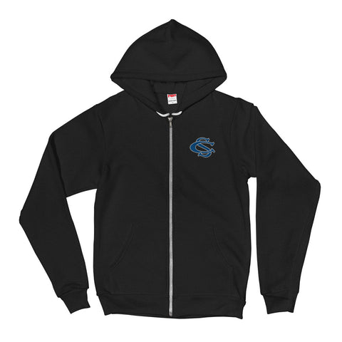 Central Springs Panthers Unisex Zip-Up Hooded Sweater