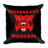 Central City Wildcats Basic Throw Pillow