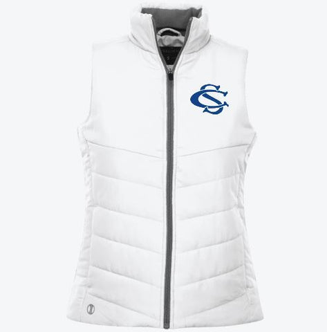 Central Springs Ladies' Quilted Vest