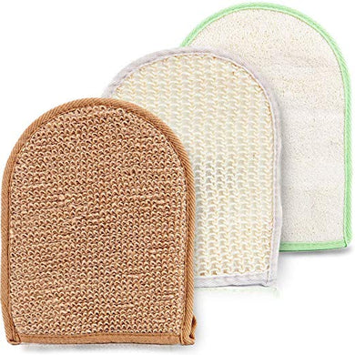 Body Scrub Exfoliating Gloves Set