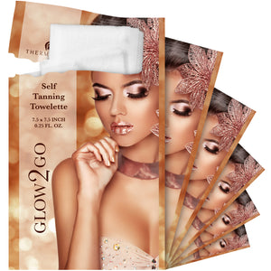 Glow to Go - Self Tanners Towels by Thermalabs