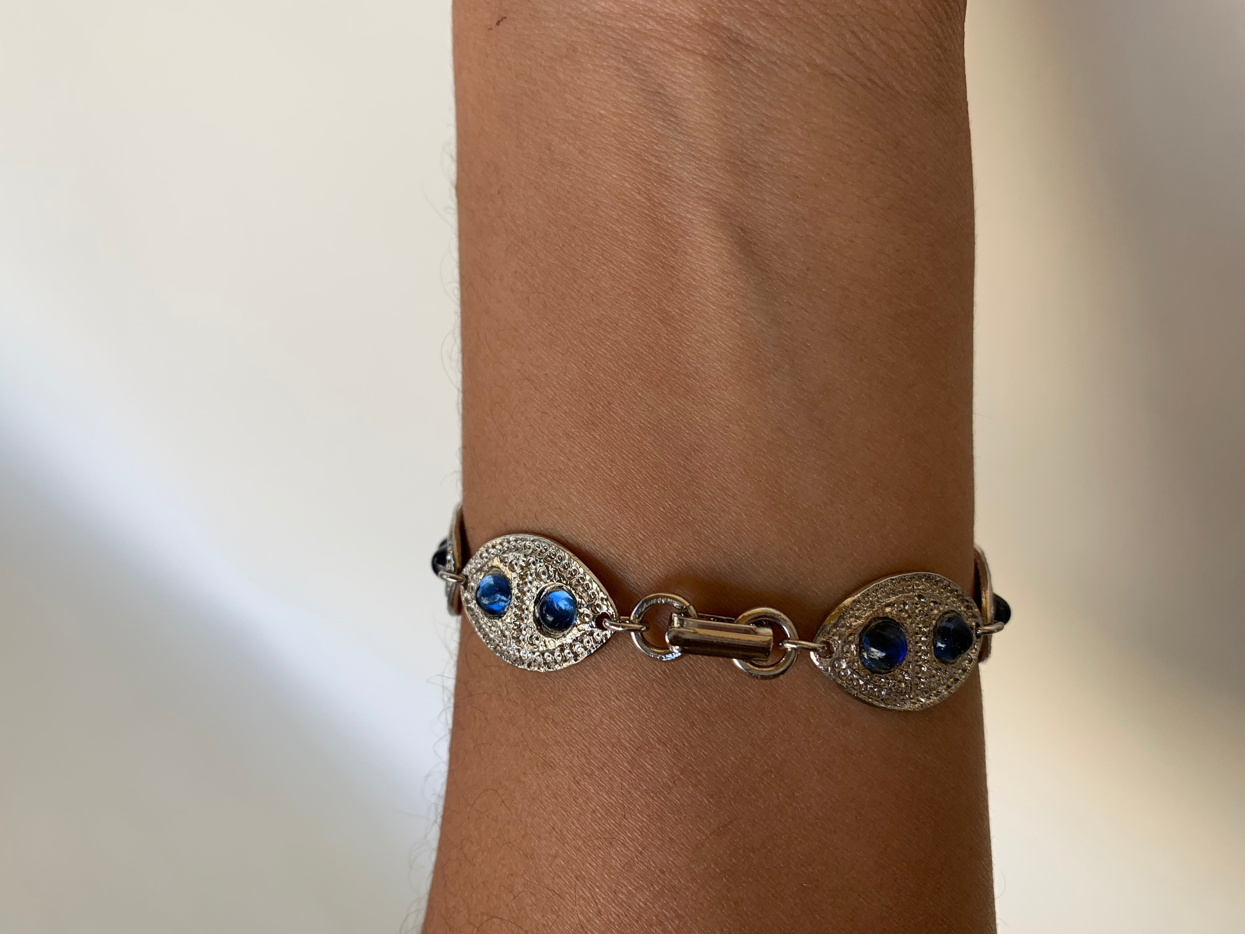 Double Eye Bracelet (multiple colors to choose from)