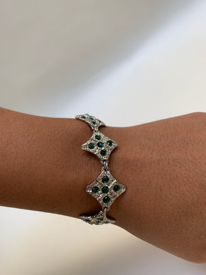 Gem Diamond Bracelet (multiple colors to choose from)