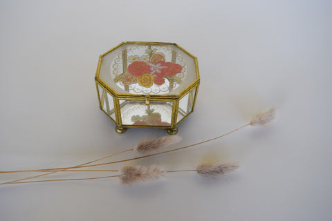Gold Ormolu Box