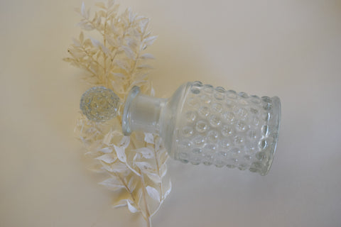 Knobby Glass Bottle