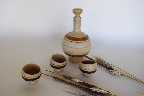 Terra-Cotta Vessel Set