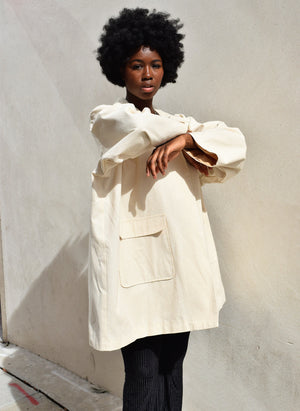 Antila Cotton Canvas Coat
