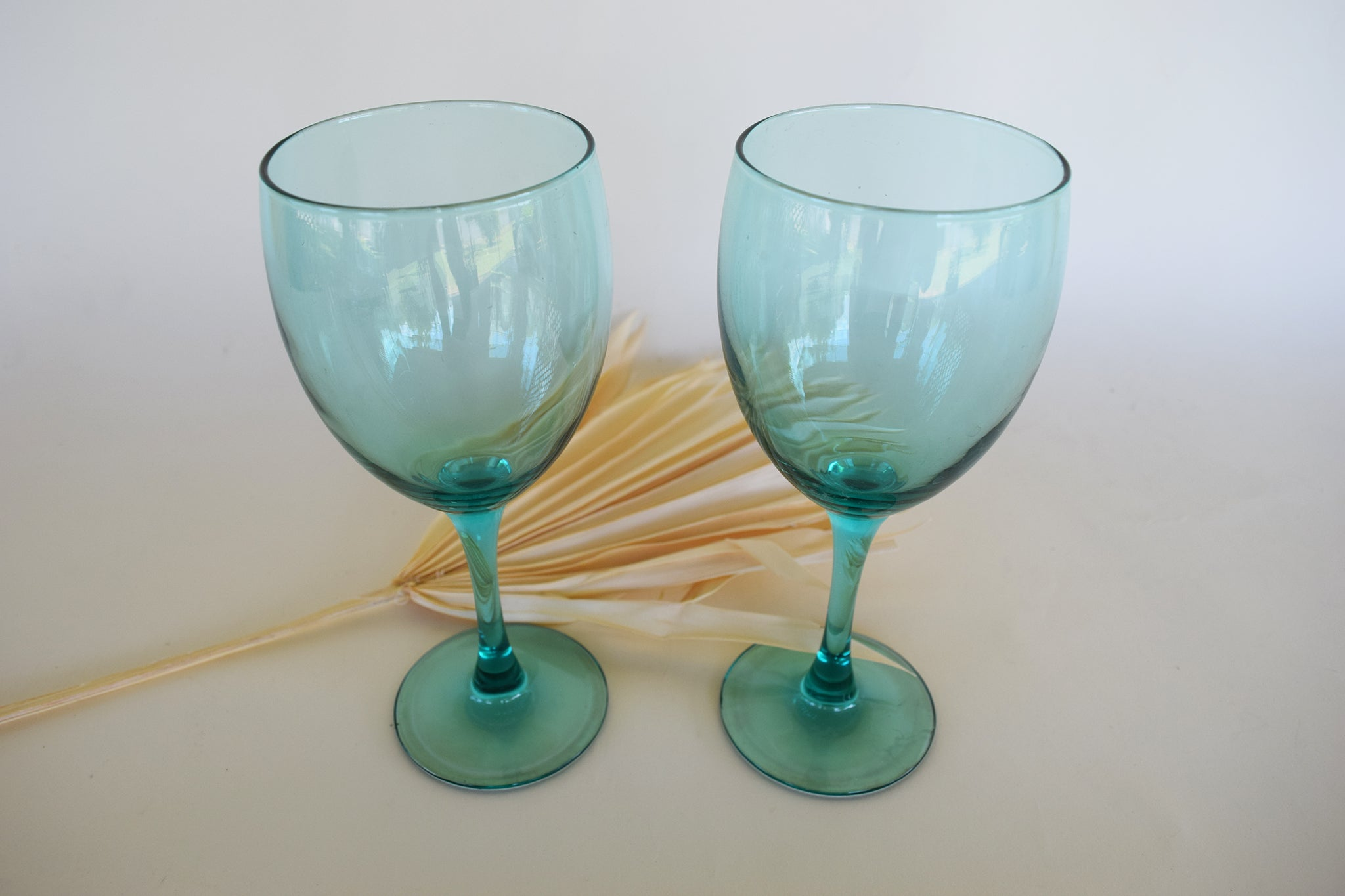 Vintage French Luminarc Wine Glasses