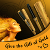 Gold Hair Styling Set