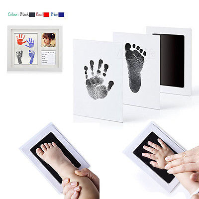 Newborn Footprint Ink Pad Handprint Non-Toxic
