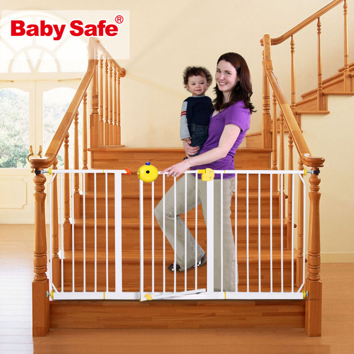 Baby safe stair safety gate