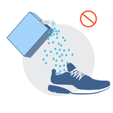 Using charcoal or baking soda to absorb shoe odors is slow & weak | NonScents.com